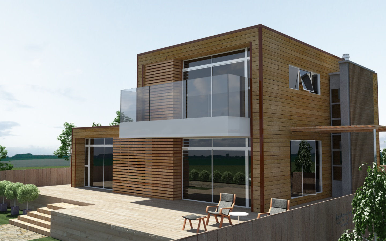 D evostavby d evostavby a zahradn domky for Palazzine moderne