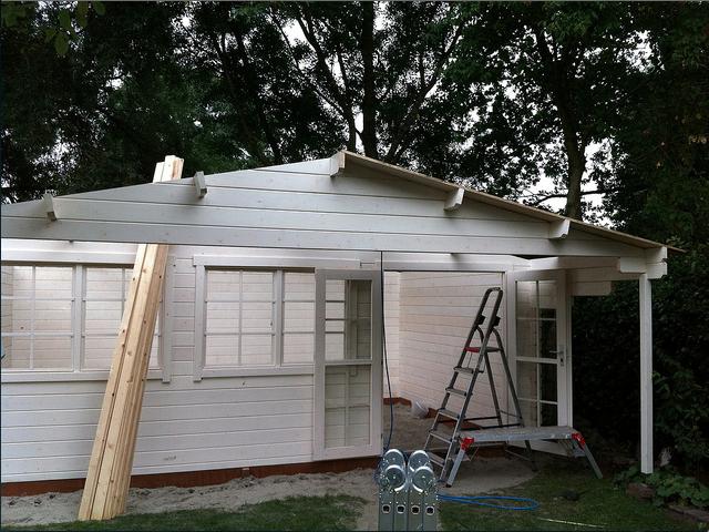 Stavební povolení na zahradní domek